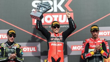 "SBK: Bautista: ""Difficult conditions, but all you had to do was adapt."""