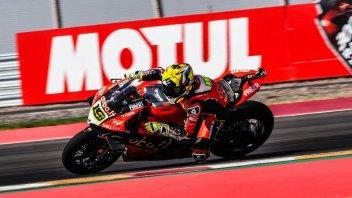 SBK: FP2: Bautista e la Ducati V4 bruciano Rea e la Kawasaki