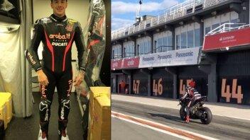 SBK: Scott Redding debutta sulla Panigale V4R del Team Aruba a Valencia