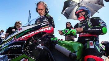 SBK: La Kawasaki scarica Leon Haslam e attende Alex Lowes
