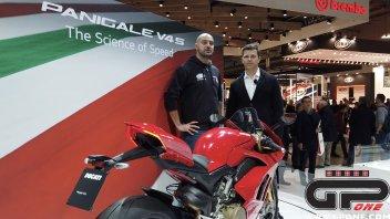 EICMA: Ducati Panigale V4: più veloce per Redding, più facile per l'amatore