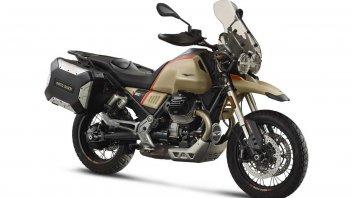 EICMA: Moto Guzzi V85 TT Travel my20: la classic diventa tourer