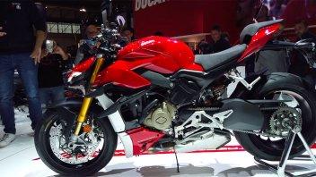 EICMA: Ducati Streetfighter V4, la follia del Joker è di colore rosso