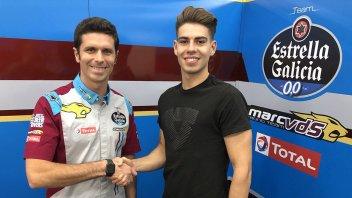 Moto2: Augusto Fernández in Marc VDS al posto di Alex Marquez