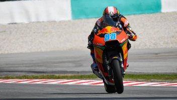 Moto2: FP2: Martin porta la KTM in vetta, 7° Di Giannantonio