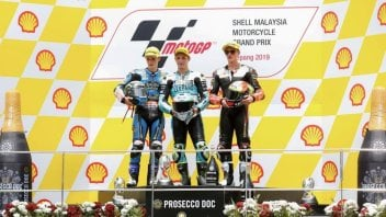 """Moto3: Dalla Porta: """"La vittoria è per Munandar, ho corso per lui e per nonna"""""""