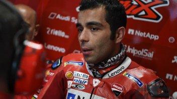 """MotoGP: Petrucci: """"Dovizioso ha girato forte, il potenziale Ducati è quello"""""""