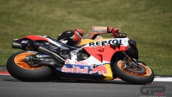 MotoGP: Sepang: all the photos of the extreme safe of Marquez