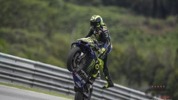 "MotoGP: 'Bipolar' Rossi: ""I'm pleased but also worried"""
