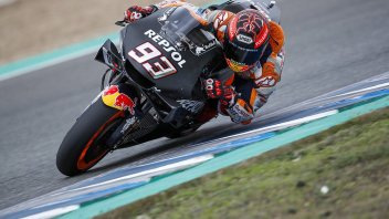 "MotoGP: Marquez, Test Jerez: ""Con Alex condivido i viaggi, ognuno pensa a sé"""