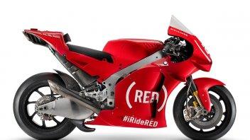 MotoGP: Aprilia in abito rosso a Valencia per sostenere la RED di Bono