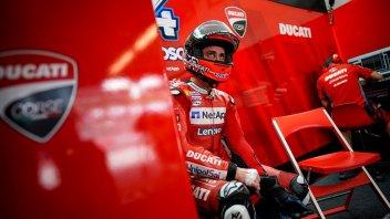 """MotoGP: Dovizioso: """"Con la Ducati non riesco ad andare al limite"""""""
