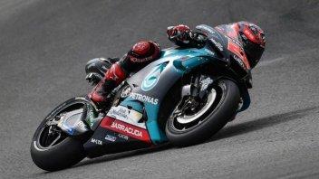 MotoGP: FP1: Quartararo e la Yamaha al top, Rossi a terra