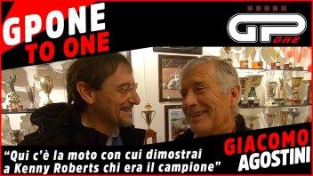 """MotoGP: Agostini: """"Ecco la Yamaha con cui dimostrai a Roberts chi era il n°1"""""""