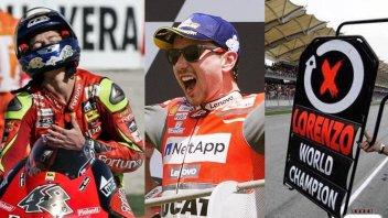 MotoGP: Jorge Lorenzo, dal dominio in Yamaha al trionfo del Mugello con Ducati