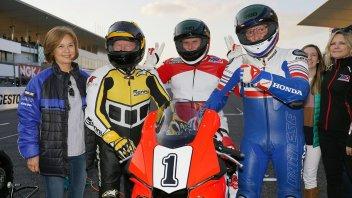 MotoGP: Rainey, Lawson e Kenny Roberts vecchietti terribili: in pista a Suzuka