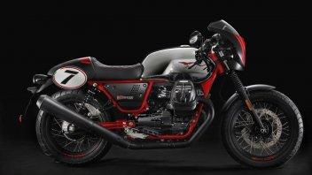 News Prodotto:  Moto Guzzi: la speciale V7 III Racer per il 10° anniversario