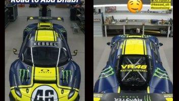 News: Ecco la Ferrari di Valentino Rossi per la 12 Ore di Abu Dhabi