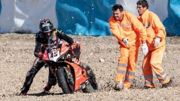 SBK: Test Jerez: Redding e la Ducati a terra, 1° Rea