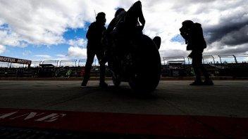 SBK: Aragon: la pioggia rovina i test e il debutto della Carrasco sulla SBK