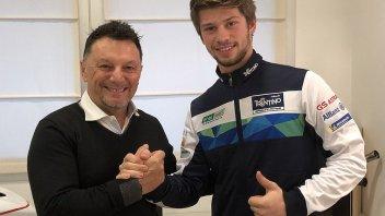 MotoE: Zaccone nel team Gresini insieme al campione Ferrari