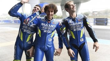 "MotoGP: Brivio: ""Rins and Mir gave the new Suzuki engine a thumbs up."""