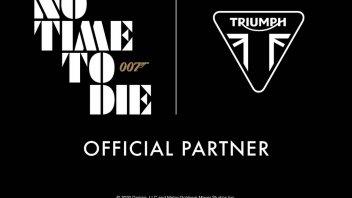 """News Prodotto: """"No Time To Die"""": per James Bond, le nuove Triumph"""