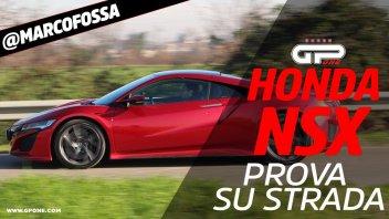 Auto - Video: Prova Honda NSX - Traiettorie chirurgiche grazie all'elettrico