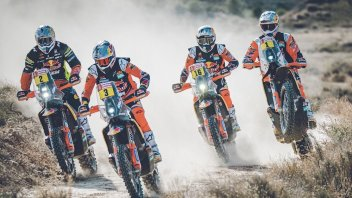 Dakar: KTM regina d'Africa a caccia della 19esima Dakar consecutiva