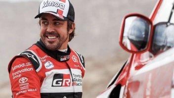 """Dakar: Alonso: """"Peccato, oggi potevo chiudere quarto"""""""