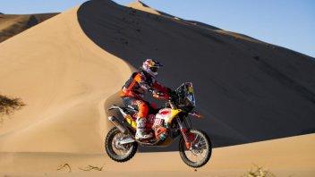 Dakar: MOTO - 1^ Tappa: Price e la KTM subito al comando, 24° Cerutti
