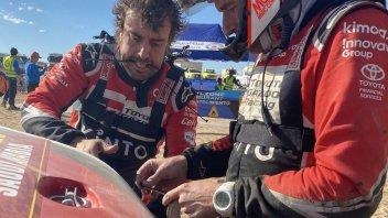 """Dakar: Alonso: """"Oggi ho smontato e rimontato la macchina"""""""