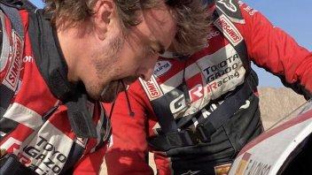 """Dakar: Alonso meccanico nel deserto: """"Abbiamo del nastro americano?"""""""
