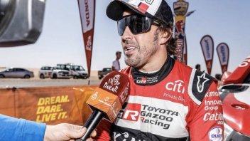 Dakar: AUTO - 8° Tappa: Alonso ad un soffio dalla vittoria
