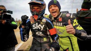 """Moto2: Marini: """"Rossi fuori dal team Yamaha? Un peccato, serviva più tempo"""""""