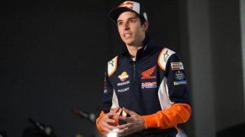 "MotoGP: A. Marquez: ""I entered the HRC box and had butterflies in my stomach."""
