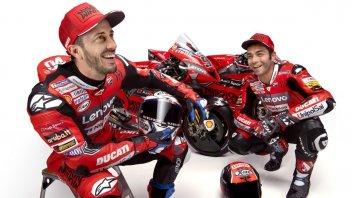 MotoGP: Ducati GP20, lo shooting completo di Dovizioso e Petrucci