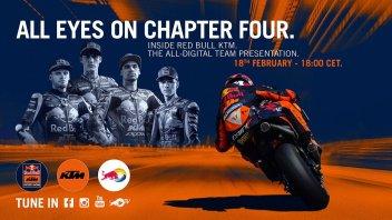 MotoGP: KTM sceglie il virtuale: presentazione del Team 2020 solo in Streaming