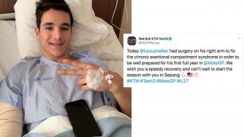 MotoGP: Lecuona operato di sindrome compartimentale per essere al top a Sepang
