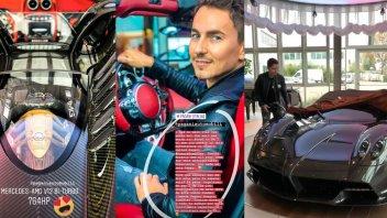 MotoGP: Jorge Lorenzo si regala una Pagani Huayra da 2,4 milioni