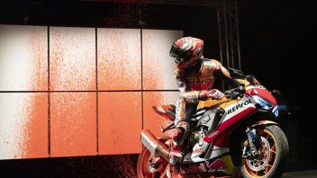 MotoGP: Marquez better than Picasso: he paints a picture... on his bike