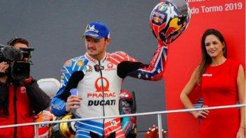 MotoGP: Australia-Emergenza incendi: Miller mette all'asta il suo casco