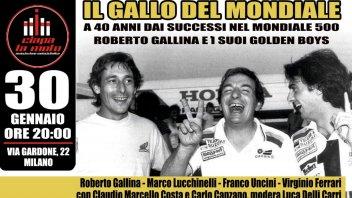 MotoGP: Roberto Gallina rievoca i tre anni di Ferrari, Lucchinelli, Uncini