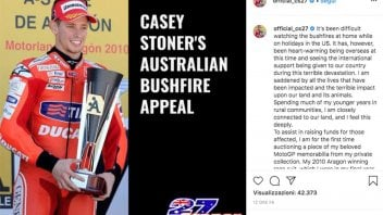 MotoGP: Casey Stoner for Australia: his 2010 Aragon winning race suit up for auction