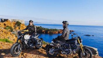 Prodotto - News: Ducati Scrambler 1100 PRO e Sport PRO, carattere Desmo al potere