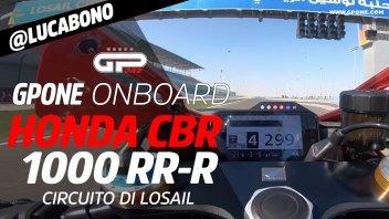 Prodotto - Test: ONBOARD Honda CBR 1000 RR-R: motore bomba, 299 in 4a a Losail!