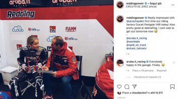 SBK: Il nuovo tester Ducati in SBK fa girare la testa a tutti