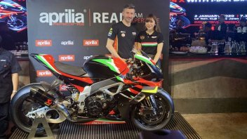 SBK: Introduced in Malaysia by Max Biaggi the Aprilia RSV-4 X