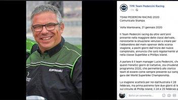 """SBK: Pedercini rassicura: """"saremo al via del mondiale SBK a Phillip Island"""""""
