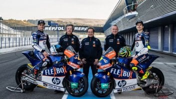 Moto2: Here are the new colors of the Kalex of Baldassarri and Garzo